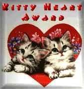 Kitty Heart Award