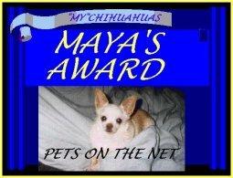 My Chihuahua Award